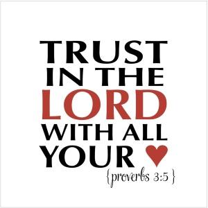 Proverbs 3:5