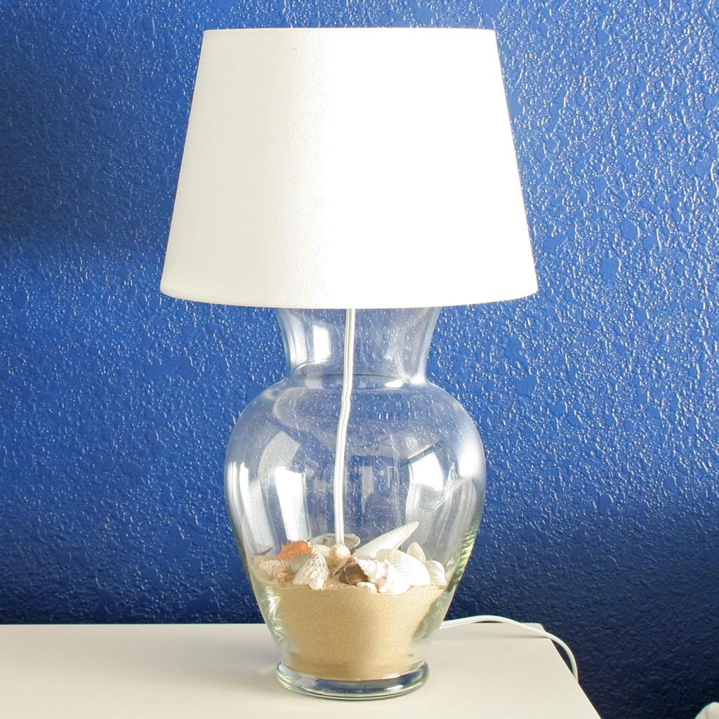 DIY Glass Vase Lamp – Stars  for diy table lamp from vase  75sfw