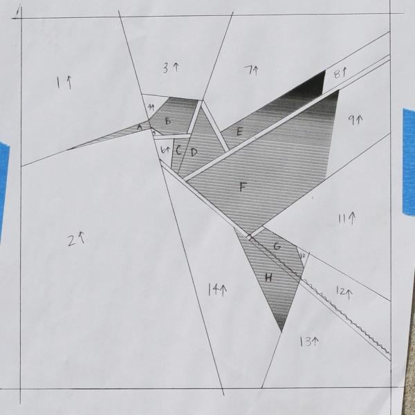 Paper Pieced Hummingbird – Stars & Sunshine - photo#25