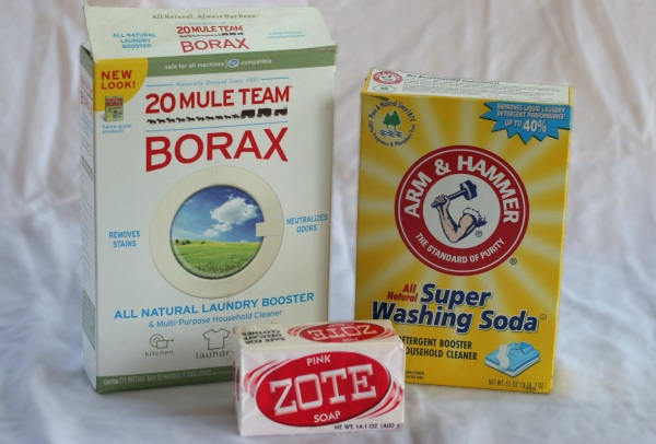 diy laundry soap ingredients