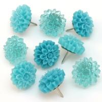 Resin Flower Thumbtacks