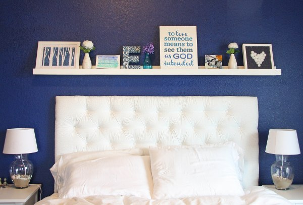 DIY Giant Ikea Photo Ledge
