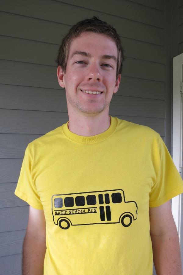 Magic School Bus Costume/Shirt