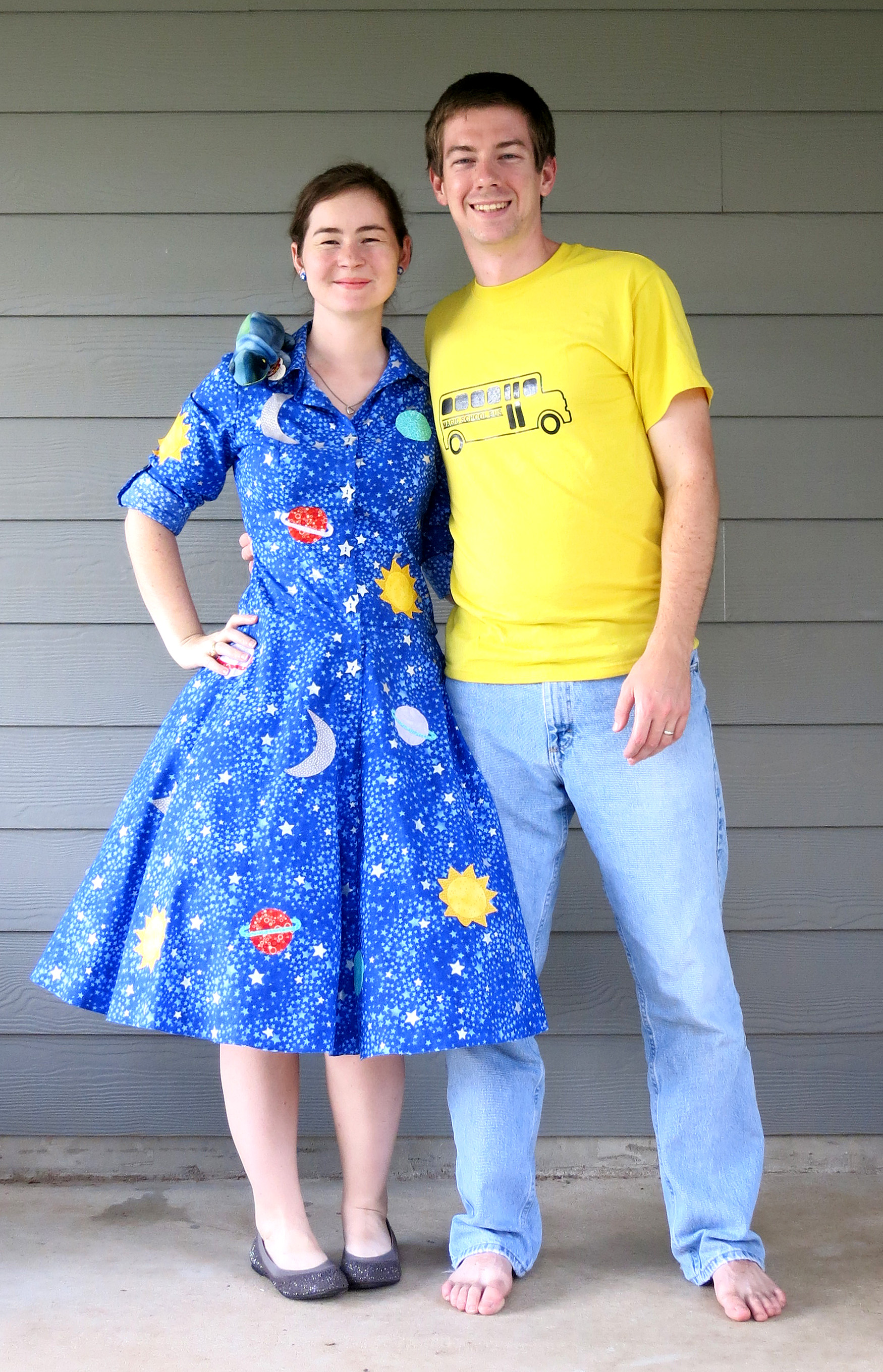 mrs frizzle and magic school bus halloween costumes