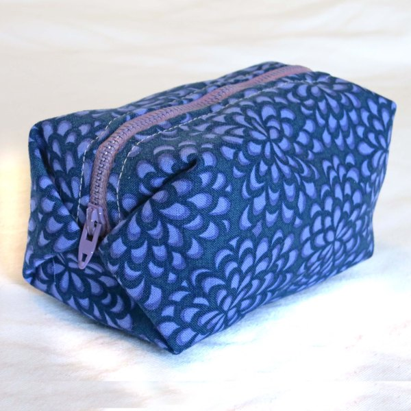 Lined Box Pouch